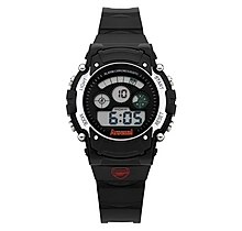 Arsenal Leisure Kids Black Digital Display Watch