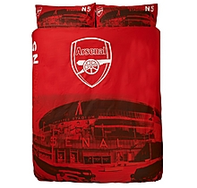 Arsenal Emirates Stadium Double Duvet Set