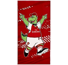Arsenal Gunnersaurus Beach Towel