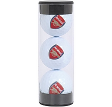 Arsenal 3 Pack Golf Balls