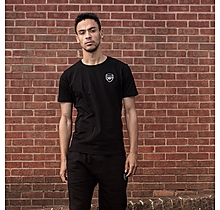 Arsenal Essentials Crew T-Shirt Black