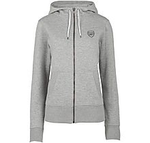 Arsenal Womens Essentials Zip Hoody