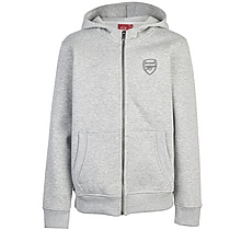 Arsenal Kids Essentials Zip Hoody (4-13yrs)