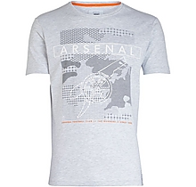 Arsenal Since 1886 Mono Geo Cannon T-Shirt