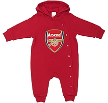 Arsenal Baby Fleece Hoody All-In-One