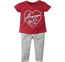 Arsenal Baby Top & Legging Set