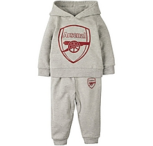 Arsenal Baby Hoody Crest Tracksuit