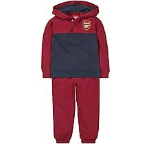 Arsenal Baby Hoody Panel Tracksuit