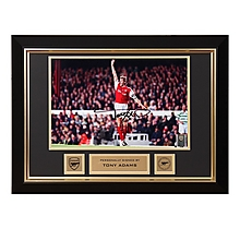 Arsenal Tony Adams Framed Signed Photo V Celtic Testimonial