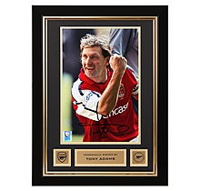 Arsenal Tony Adams Framed Signed Photo Millennium Stadium