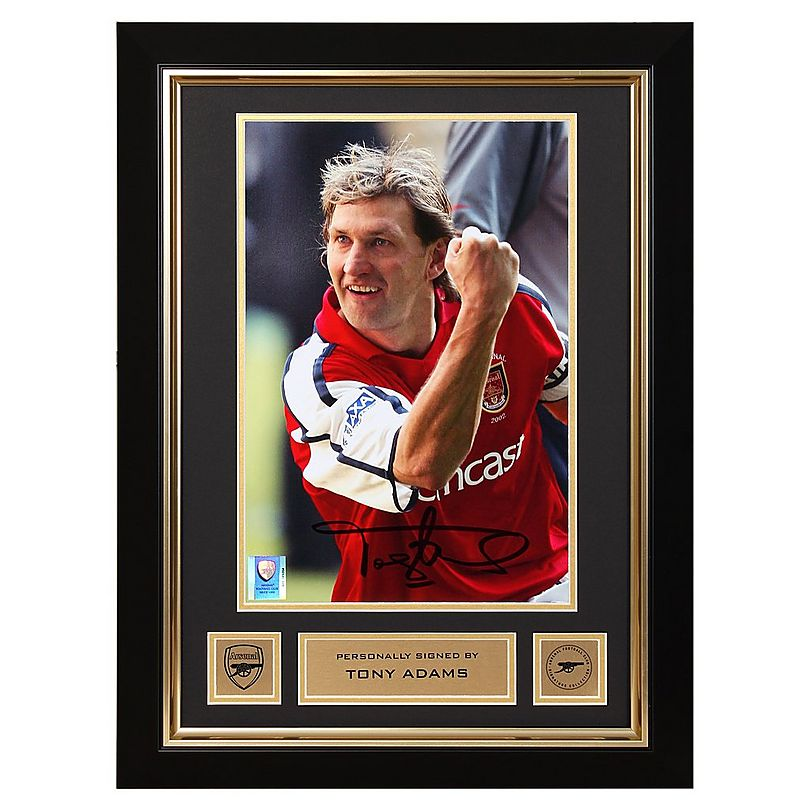 check out 09c2c 9506f Tony Adams Framed Signed Photo Millenium Stadium   Official ...