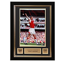 Arsenal Tony Adams Framed Signed Photo V Everton 1998