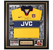 Tony Adams Framed Signed 97/98 Away Shirt