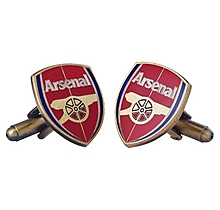 Arsenal Colour Crest Cufflinks