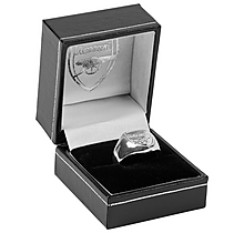 Arsenal Sterling Silver Ring