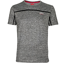 Arsenal Leisure Marl Chest Stripe T-Shirt