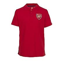Arsenal Kids Leisure Crest Badge Polo (2-13yrs)