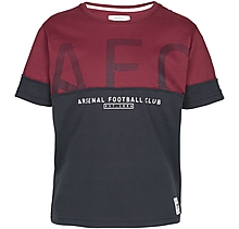 Arsenal Kids Since 1886 Contrast Panel T-Shirt (4-13yrs)