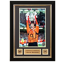 David Seaman Signed Fa Cup Final 2003 Frame