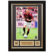 Pascal Cygan V Porto 2005 Signed Frame