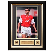 Nigel Winterburn Signed Framed Photo