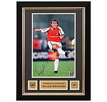 Gilles Grimandi Signed Framed Photo