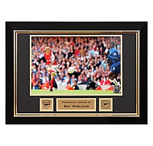 Ray Parlour V Chelsea Fa Cup Final 2002 Signed Frame