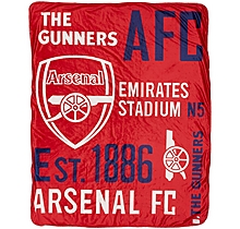 Arsenal Sherpa Blanket