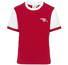 Arsenal Kids 1970s Home Shirt (4-13yrs)