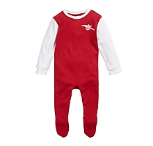 Arsenal Baby Retro 1970s Kit Sleepsuit