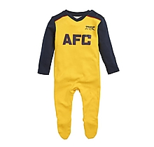 Arsenal Baby Retro 88-89 Sleepsuit