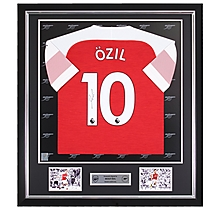Ozil Framed Signed 18/19 Shirt