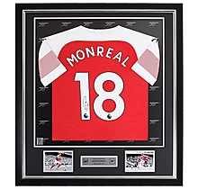 Monreal Framed Signed 18/19 Shirt