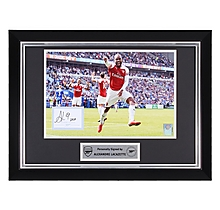 Lacazette Framed Signed 18/19 Print