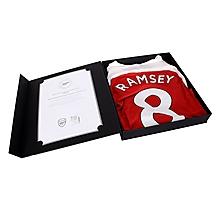 Prem League Match Worn Shirt V Everton Ramsey