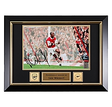 Ian Wright Signed Framed 100 Goal Photo