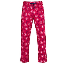 Arsenal Crest Lounge Pants Red
