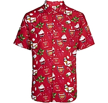 Arsenal Adult Christmas Tropical Shirt