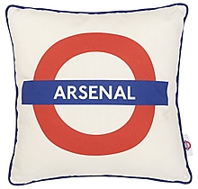 Arsenal Tube Sign Cushion
