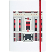 Arsenal Highbury A5 Lined Notebook