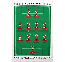 Arsenal Double Win Tea Towel