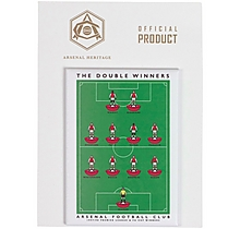 Arsenal Double Win Fridge Magnet
