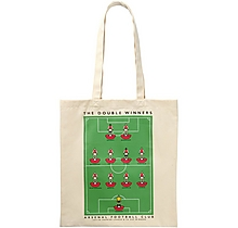 Arsenal Double Win Canvas Bag