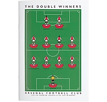 Arsenal Double Win A4 Sketch Book