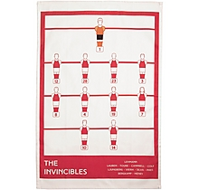 Arsenal The Invincibles Tea Towel