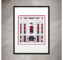 Arsenal Highbury A3 Print
