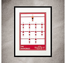 Arsenal The Invincibles A3 Print