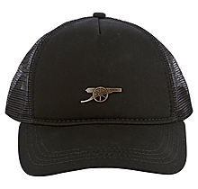 Arsenal Cannon Black Trucker Cap