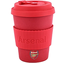 Arsenal Reusable Bamboo Coffee Cup