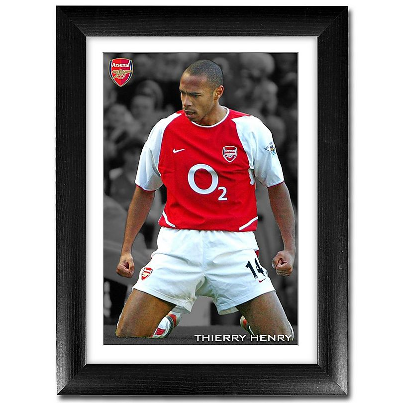 100% authentic 3c7ec e5459 Thierry Henry Statue Print | Official Arsenal Online Store